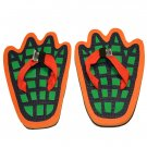 Alligator Feet Kid Flops - XSmall