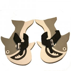 Great White Shark Kid Flops - XSMALL