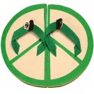 Peace Sign Fiesta Flops - Medium