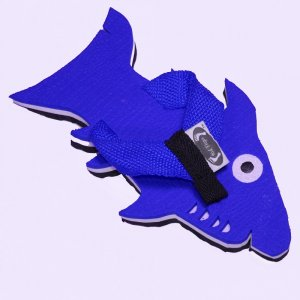 Blue Shark Fiesta Flops - Large