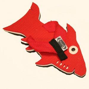 Red Shark Fiesta Flops - Large
