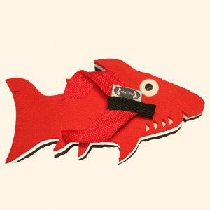 Red Shark Fiesta Flops - Medium