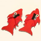 Red Shark Kid Flops - XSmall