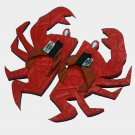 Red Crab Kid Flops - Small