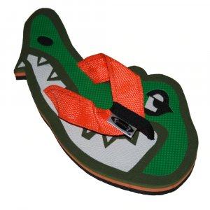 Alligator Head Fiesta Flops - Large