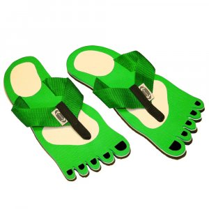 Green Feet Kid Flops - Small