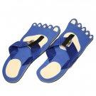 Blue Feet Kid Flops - Small