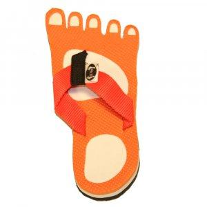 Orange Feet Fiesta Flops - Medium