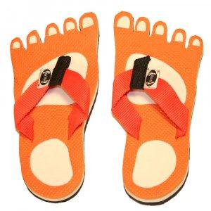 Orange Feet Kid Flops - Small