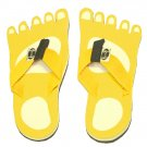Yellow Feet Kid Flops - Small