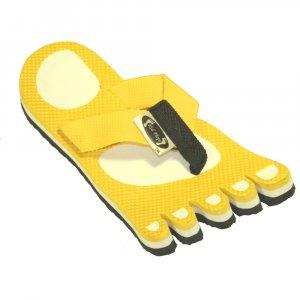 Yellow Feet Fiesta Flops - Large