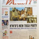 "Variety: September 2 - 8, 2002 ""Hollywood's New Toga Party"""