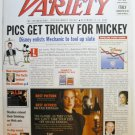 "Variety: December 17 - 23, 2001 ""Pics Get Tricky for Mickey"""