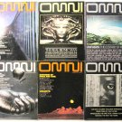 Omni Magazine: 24 Back Issues Plus 1 Repeat from 1978 to 1982