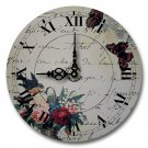 "12"" Decorative Wall Clock (Romantic Message Clock)"