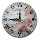 "12"" Decorative Wall Clock (Romantic Music)"
