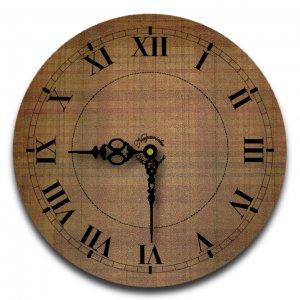 "12"" Decorative Wall Clock (Flannel)"