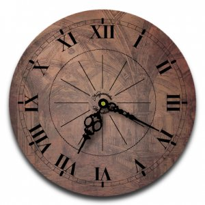 "12"" Decorative Wall Clock (Old World)"