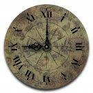 "12"" Decorative Wall Clock (Paisley Sparkle)"