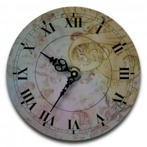 "12"" Decorative Wall Clock (Princess)"