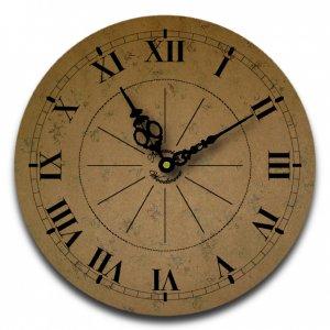 "12"" Decorative Wall Clock (Subtle Suede)"