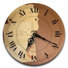 "12"" Decorative Wall Clock (Tagged)"