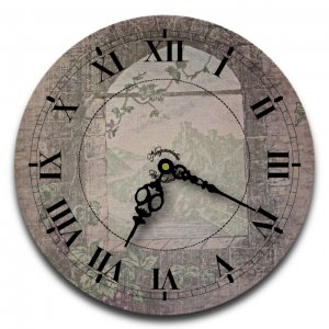 """12"""" Decorative Wall Clock (The Tower)"""