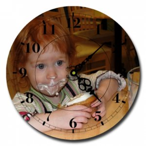 Custom Photo Clocks starting at $19.95