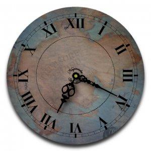 """12"""" Decorative Wall Clock (Treasure Map)"""