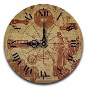 "12"" Decorative Wall Clock (On The Boulevard)"