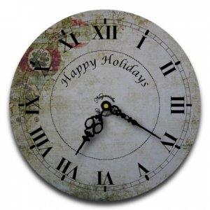 """12"""" Decorative Wall Clock (Ornaments)"""