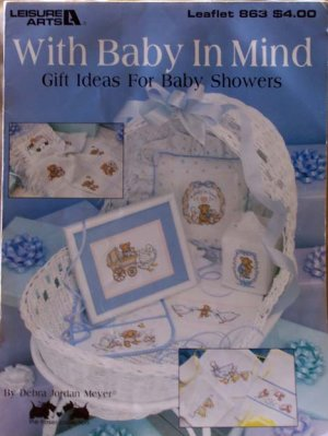 Cross Stitch Leaflet - With Baby In Mind