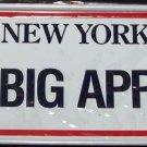 Cereal Premium NEW YORK 1990 Toy Mini License Plate NIP