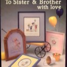 Cross-Stitch Leaflet, To Sister & Brother With Love