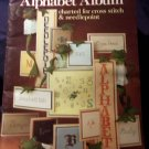 Leisure Arts Alphabet Album Cross Stitch Booklet