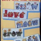 Just Say The Word Cross Stitch Leaflet