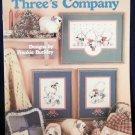 Three's Company Cross Stitch Leaflet