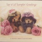 "Boyd's Bears ""Say A Lil' Sumptin'"" Notecards"
