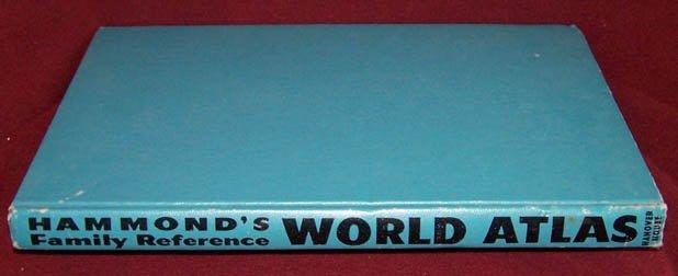 Hammond�s Family Reference World Atlas HB 1959