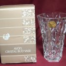 Vintage 1987 Avon Crystal Bud Vase - Original Sticker and Box