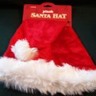 Christmas Plush Santa Hat ~ Large ~ 8 Available