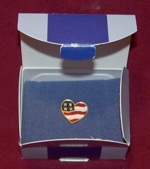 Avon ~ Heart of America Pin ~ Americana Collectible - 4 Available