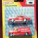 BuddyL Die Cast Collection - Fire Dept. Car and Van - Brand New
