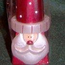 Santa Taper Candle ~ Santa's Workbench Candle - NIP