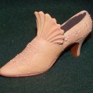 Miniature Ceramic Shoe - Unique Front and Great Detailing