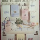 Just Fingertips Cross Stitch Leaflet - Leisure Arts