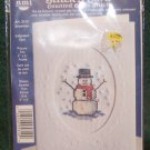 Stitch A Card - Counted Cross Stitch Kit - Snowman Art. 5310 NIP