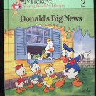 Mickey's Young Readers Library Vol # 2 ~ Donald's Big News