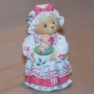 "Vintage 1995 Cherished Teddies Holly ""A Cup of Homemade Love"""