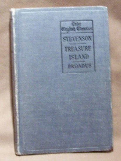 1904 TREASURE ISLAND ~ ROBERT LOUIS STEVENSON ~ Lake English Classics